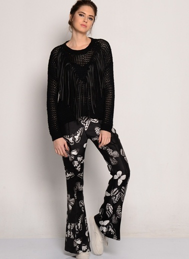 Goldie Bluz Siyah